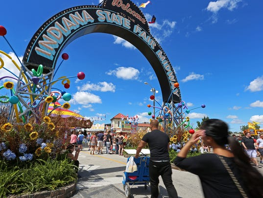 Indiana state fair dates