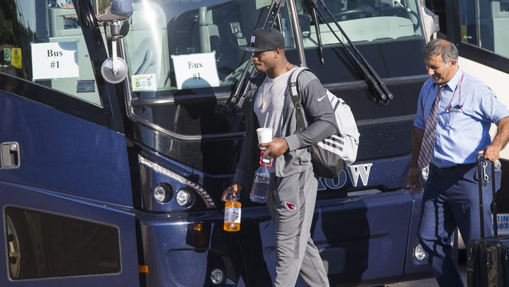 Bickley: Cardinals take to London stage to show off their new star, Adrian Peterson
