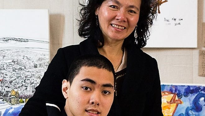 Prodigious savant artist Ping Lian Yeak and his mother Sarah Lee will be in Fond du Lac on April 3 as part of the Dr. Darold Treffert Lecture series being held at Marian University.