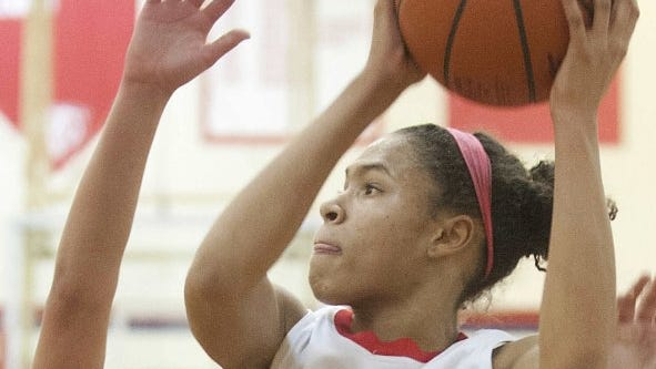 Jaelynn Penn is one of the standout freshmen on a deep roster for second-ranked Butler.