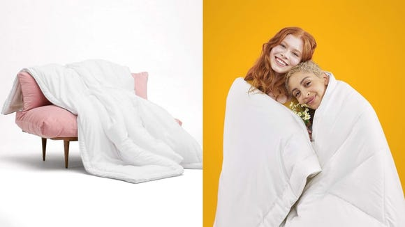 A comforter is a gift people never knew they needed.