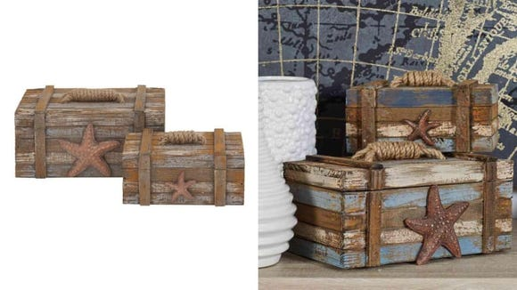 Keep your love of the beach in your life all year long by going totally coastal with your decor.