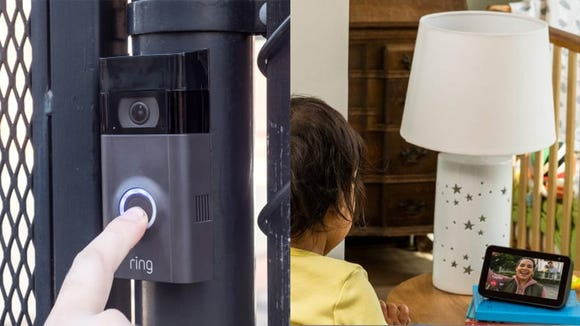 This bundle is the ideal video doorbell surveillance system.