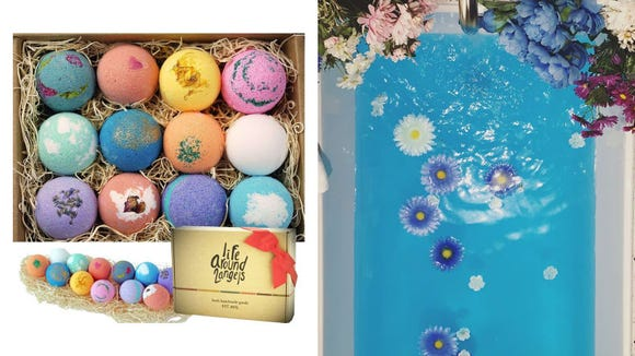 Best gifts under $50: LifeAround2Angels Bath Bombs Gift Set