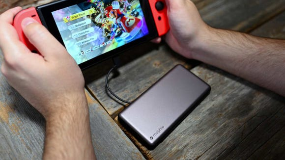 This battery is pricier than other stocking stuffers, but so worth it if you have a Nintendo Switch.