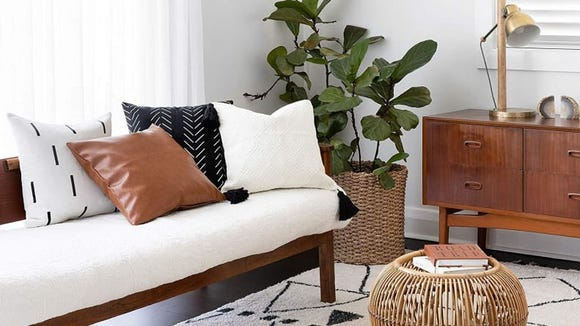 Amazon carries lots of home decor, and you can get it fast with two-day shipping.