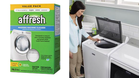 You can finally clean your washer with this tablets.
