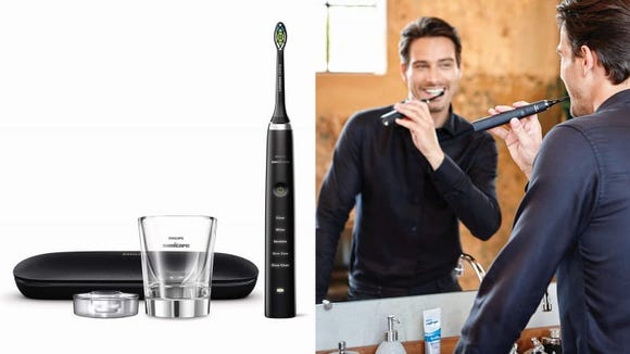 Keep your teeth glistening with the BMW of toothbrushes.