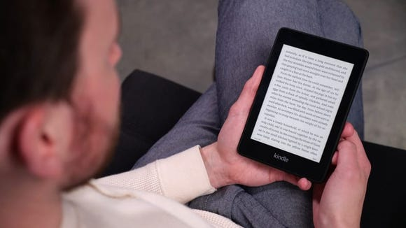 The Kindle Paperwhite lets you bring your entire library to wherever you go to curl up with a good read.