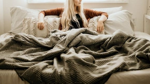 As its name suggests, this blanket is seriously big.