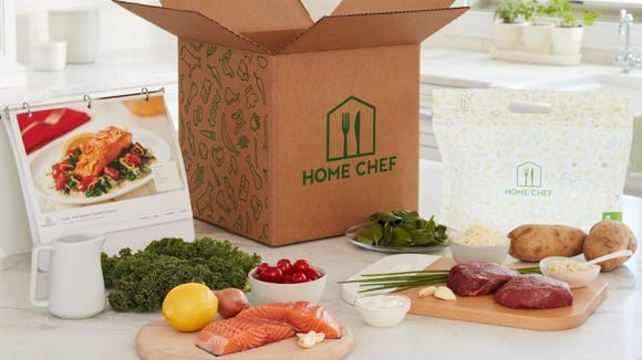 Meal kits like Home Chef can help you eat healthier this year.