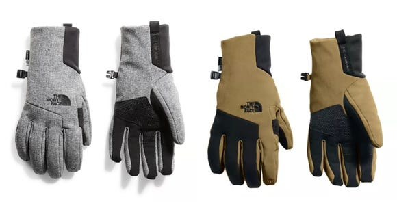 These gloves are uber warm and have touchscreen functionality.