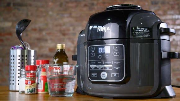 It might seem a little extra,  but trust us, the Ninja Foodi is so worth it.