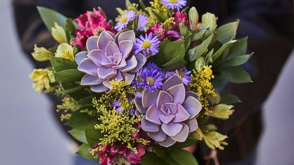 Bouqs lets you choose from three different bouquet styles.