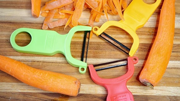 You'll get three peelers for the price of one.