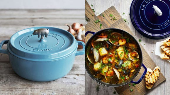 Not only are the Dutch ovens gorgeous, they're incredibly versatile, too.