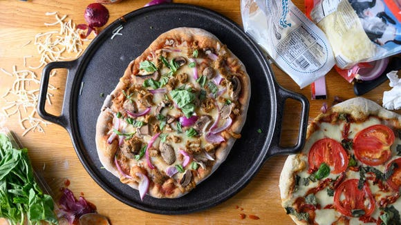 You might love your pizza stone, but we found this cast iron pan makes the best crust.