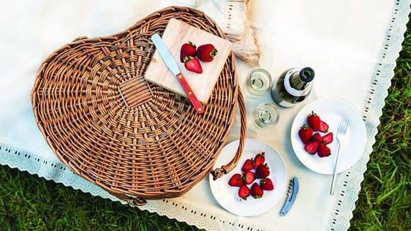 A Valentine's Day picnic would be a unique, romantic date!