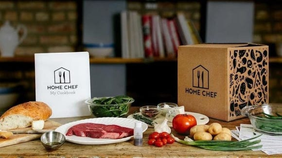 Tasty meals delivered right to her doorstep? Yes, please.