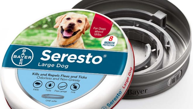 Since Seresto flea and tick collars were introduced in 2012, the EPA has received incident reports of at least 1,698 related pet deaths.
