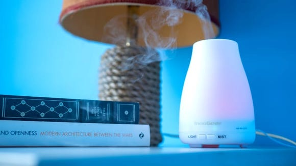 Create a soothing atmosphere with the InnoGear Aromatherapy Essential Oil Diffuser.