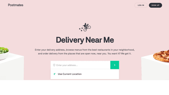 Postmates will deliver more than takeout to your door.