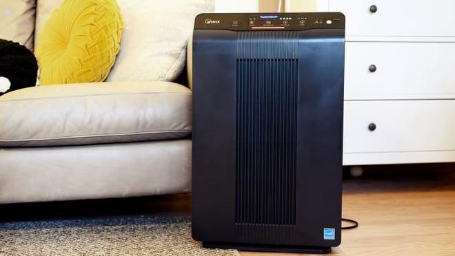 Breathe cleaner air with an air purifier.