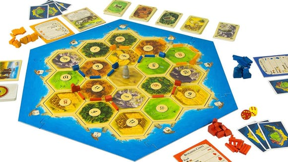 Gifts for new parents: Settlers of Catan