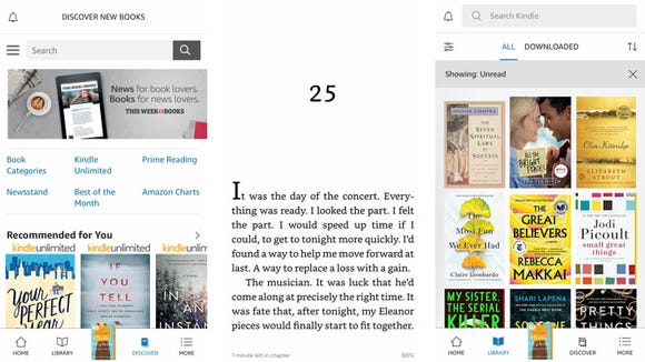 With Kindle Unlimited, you can read a ton of books at no charge.