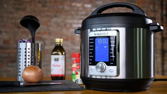 The Instant Pot Ultra is our favorite pressure cooker overall.