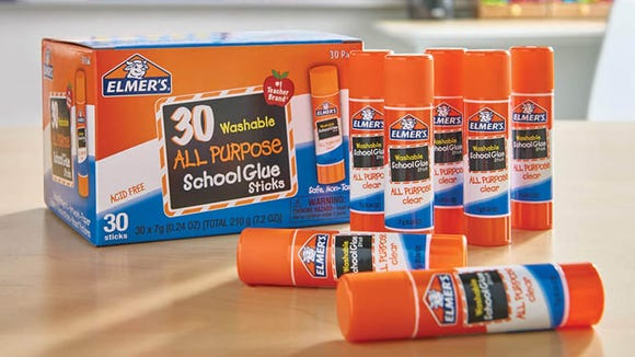 Don't worry. These glue sticks are washable.