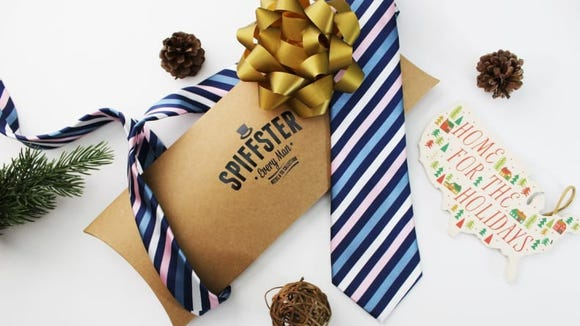 Stock up on cool ties with a Spiffster subscription.
