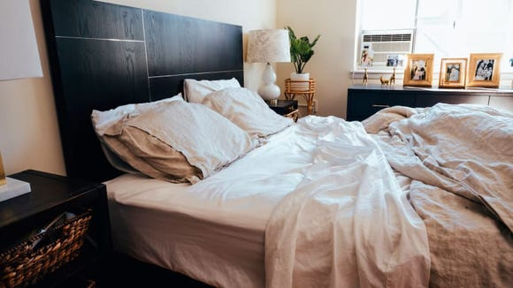 Brooklinen makes our favorite set of bed sheets.