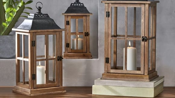 You can buy all three lanterns for under $50.