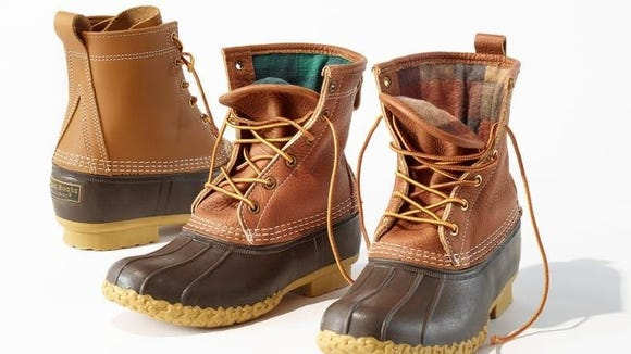 Duck boots come in tons of colors and heights.