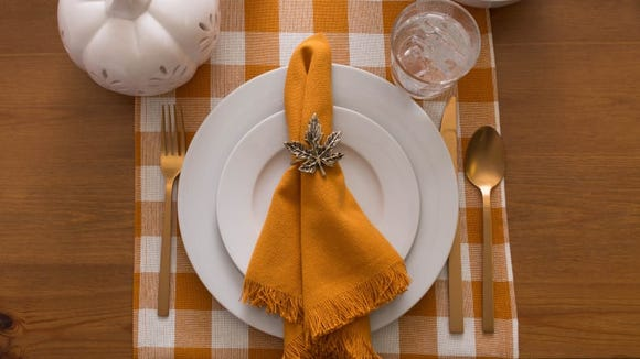 This table runner fits any fall aesthetic.