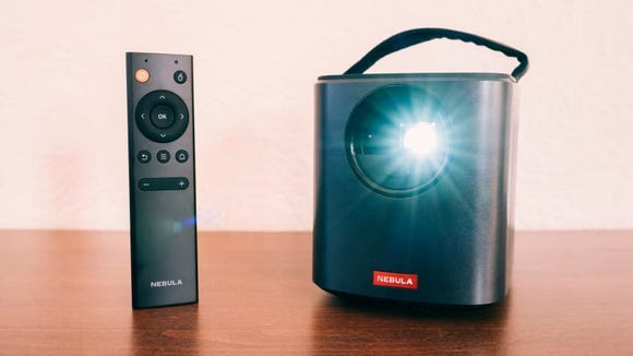 Our tester praised this projector for its stellar picture quality, battery life and ease of use.