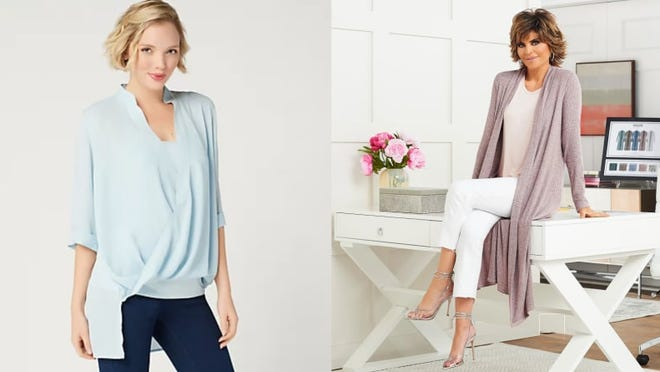 Rinna's California chic apparel is only available at QVC.