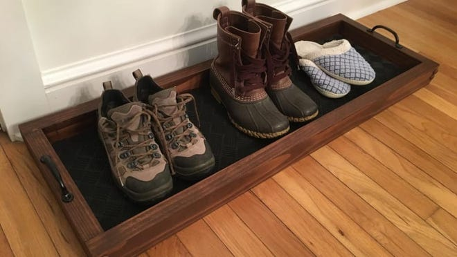 You get to select the color of your boot tray.