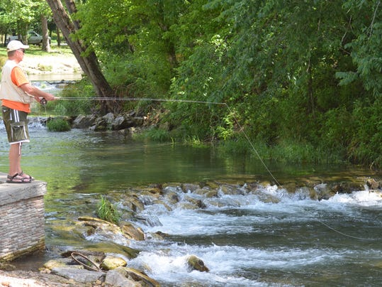 Offer comments about roaring river on sept 17 for Roaring river fishing