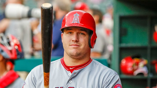 Mike Trout leads the American League with 776,937 votes for the 2017 All-Star Game.