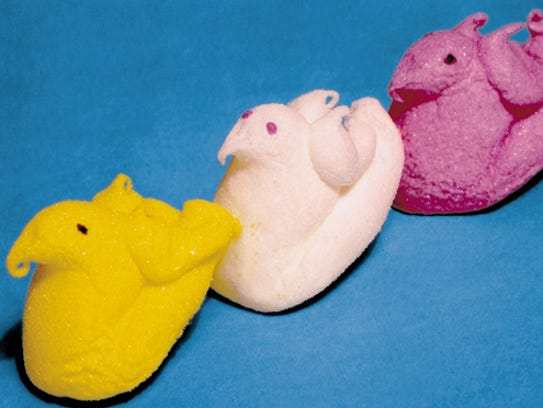 """The original Peeps design had wings. They were """"clipped"""""""