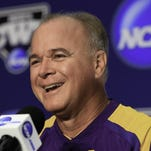LSU baseball coach Paul Mainieri lost eight position starters from last year's College World Series team.