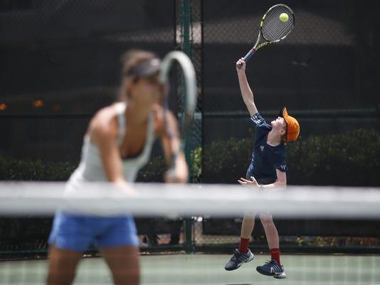 Seminole HP tennis camp 2