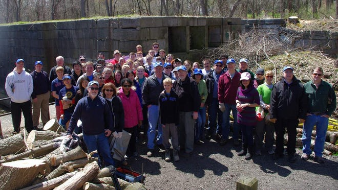 The Historic Lock 62 Preservation Project kicked off with a Community Cleanup Day.