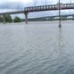 High water levels at Two Rivers Park