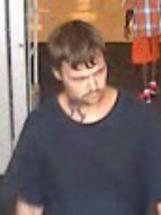 This is the suspect in theft of a game system from