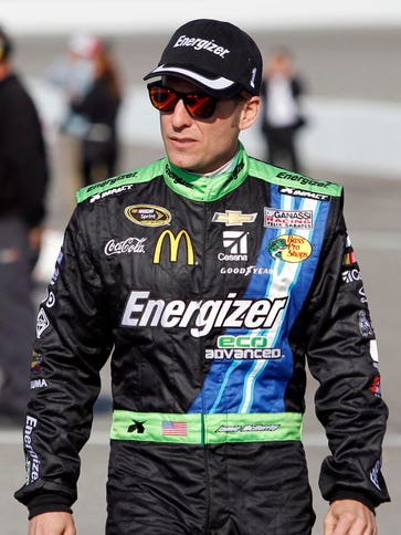 Jamie McMurray finished fourth in Sunday's Toyota Owners