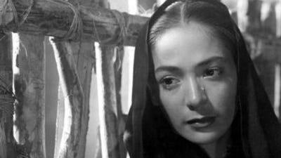 "Columba Domínguez actuó en la cinta ""Pueblerina"" de 1949."