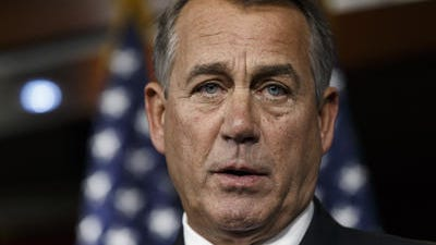 House Speaker John Boehner, R-Ohio, has dropped some hints that immigration reform still could happen this year. Sens. John McCain and Jeff Flake are encouraged.